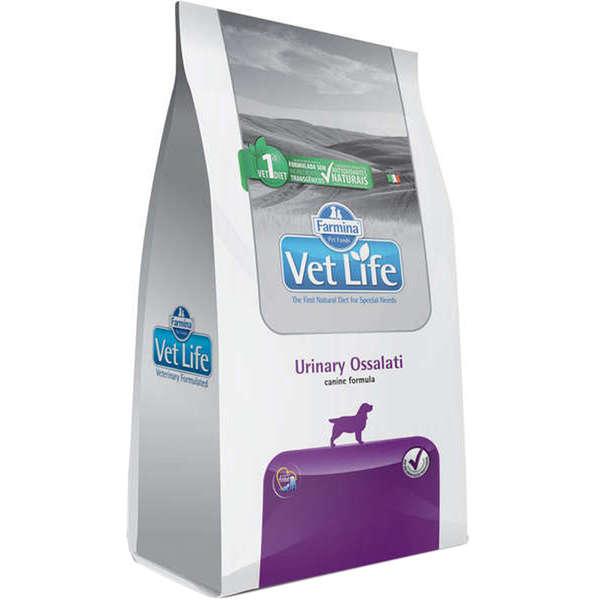 Ração Farmina Vet Life Urinary Ossalati para Cães Adultos 2 Kg