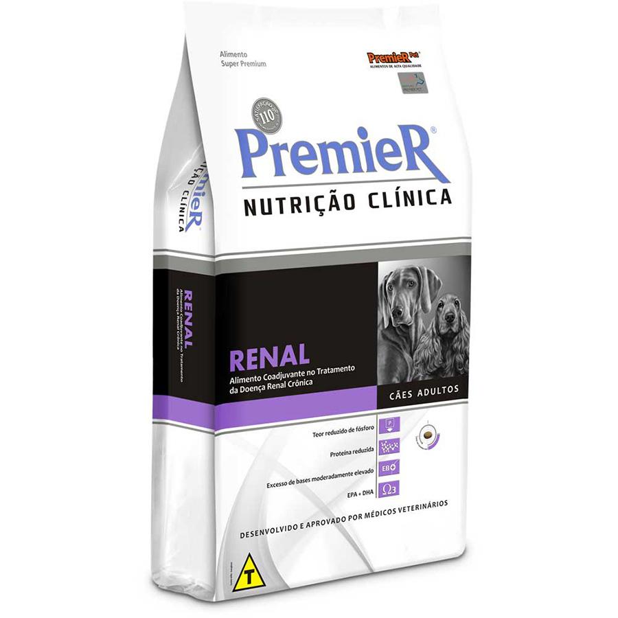Ração Premier Nutrição Clínica Renal para Cães Adultos - 10,1 Kg