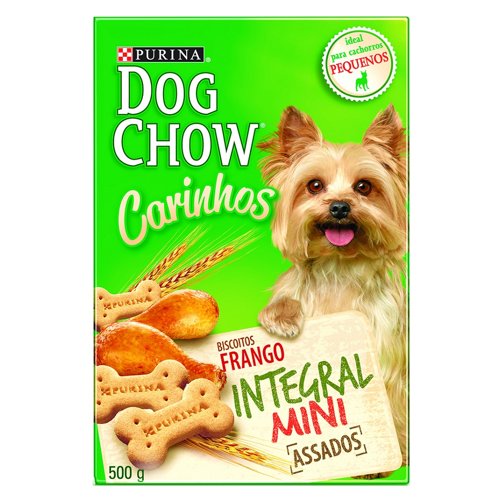 Biscoito Dog Chow Carinhos Integral Mini Purina