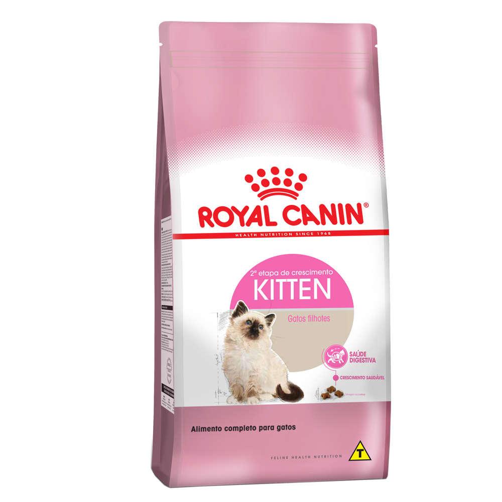 Ração Royal Canin Kitten para Gatos Filhotes com até 12 meses de Idade 1,5 KG
