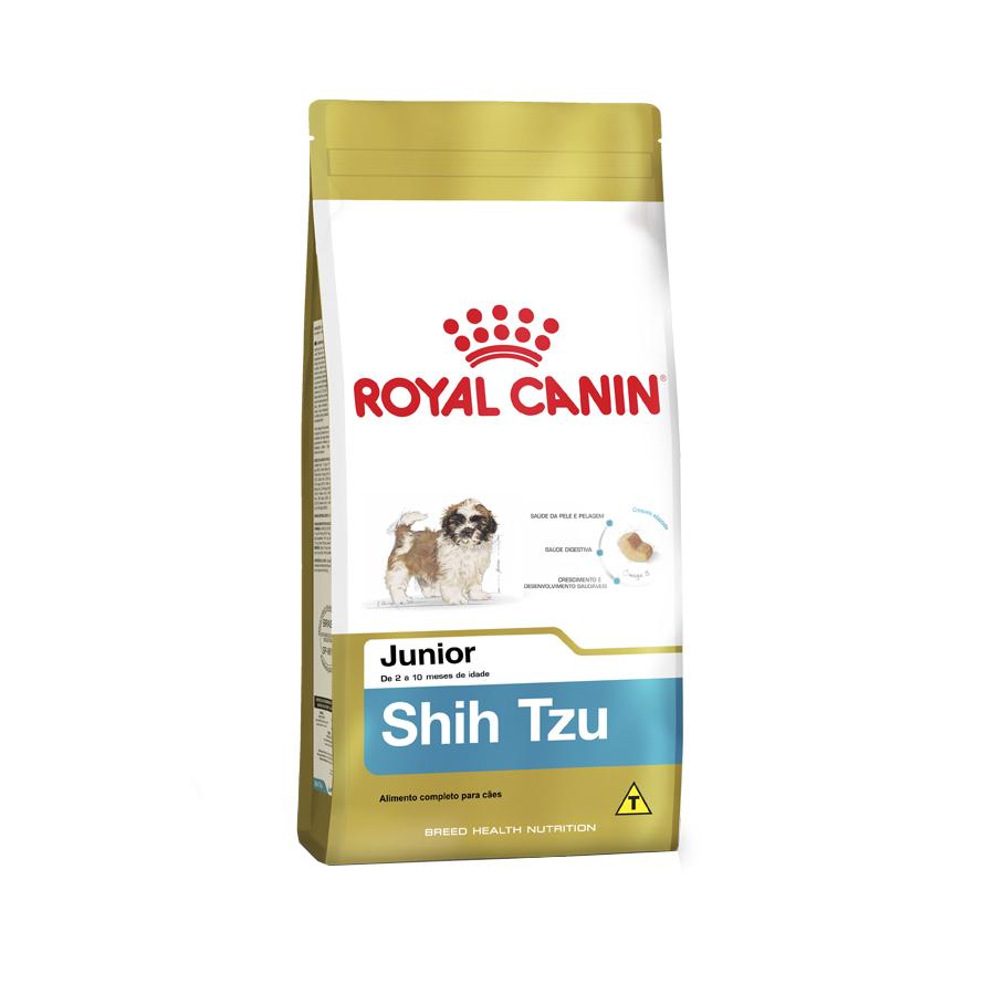 Ração Royal Canin Junior para Cães Filhotes da Raça Shih Tzu 1 KG