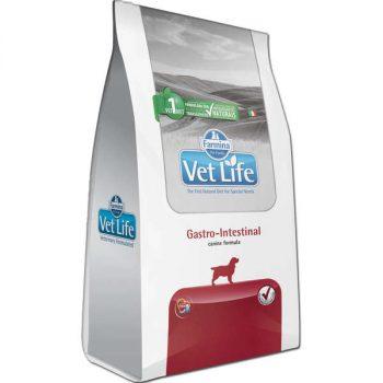 Ração Farmina Vet Life Gastro-Intestinal para Cães Adultos 2 Kg