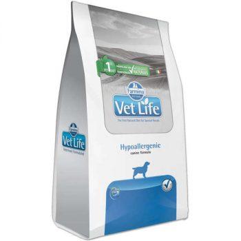 Ração Farmina Vet Life Hypoallergenic para Cães Adultos 2 Kg