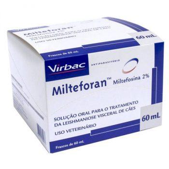 Solução Oral para Tratamento de Leishmaniose Milteforan 60 ML