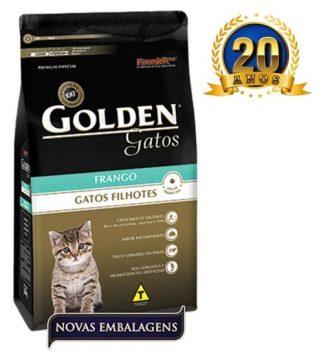 Ração Golden Gatos Filhotes Sabor Frango 10,1KG