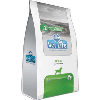 Ração Farmina Vet Life Renal para Cães Adultos 2 Kg