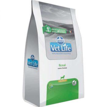 Ração Farmina Vet Life Renal Mini para Cães Adultos de pequeno porte 2 Kg